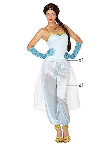Atosa - 26437 - Para adultos traje - Princesa árabe - T-1