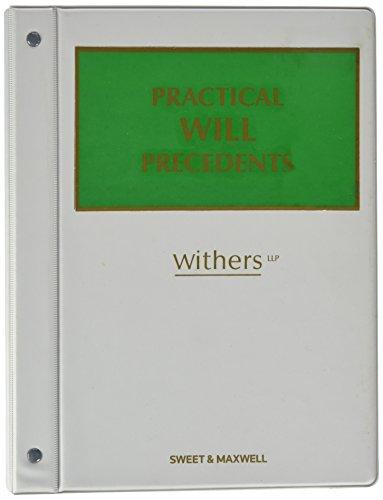 Practical Will Precedents por M. Hallam