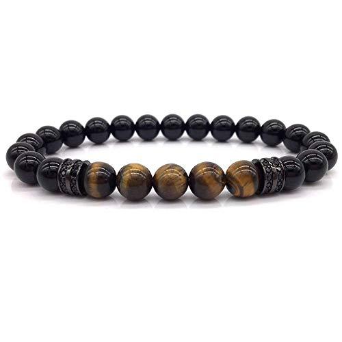 Armband Armreif,Schmuck Geschenk,Fashion New Bead Bracelet Men Simple Classic Beads Charm Bracelets & Bangles for Men Jewelry Gift