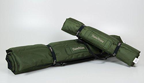 TrendPet TravelWave - Outdoor und Reisematte grün/schwarz 90x70cm