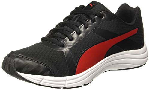 PUMA Men's Voyager IDP Black-High Risk Red Running Shoes-10 UK/India (44.5 EU) (4060981249276)