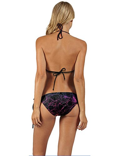 THENICE Damen Bikini-Sets Lightning