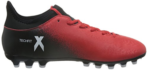 adidas X 16.3 Ag, Chaussures de Futsal Homme Marron (Rojo/ftwbla/negbas)