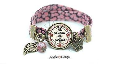 Bracelet Nounou Nourrice violet