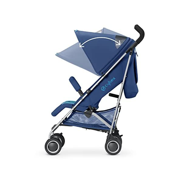 CYBEX Twinyx Princess Pushchairs (Pink)  From birth up to 30 kg Central one-pull harness system XXL sun canopy with UVP50+ 3