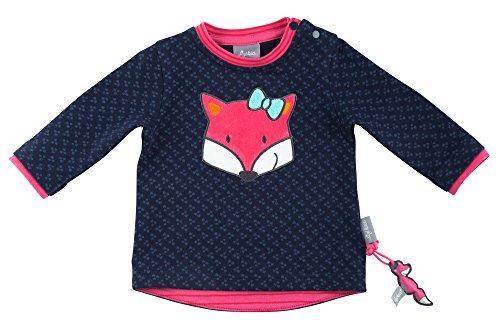 Sigikid Baby-Mädchen Sweatshirt, Blau (Peacoat 260), 68 (Baby Blau Sweatshirt)