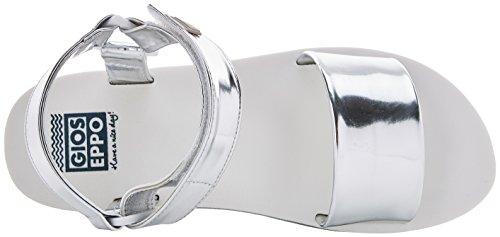 Gioseppo Damen 43283 Peeptoe Sandalen versilbert (Silber Silber)