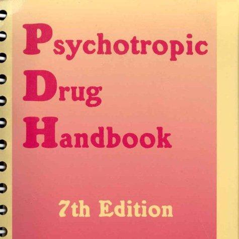 Psychotropic Drug Handbook by Paul J. Perry (1997-06-02)