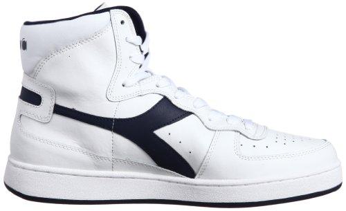 Diadora Mi Basket - Sneaker alte Unisex adulto Bianco