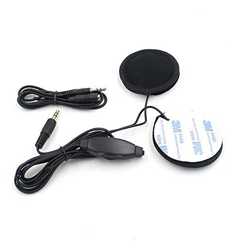 Cuffie da navigazione GPS per motocicletta Cuffie mp3 Dedicato Nero con cavo per cuffia Accessori moto
