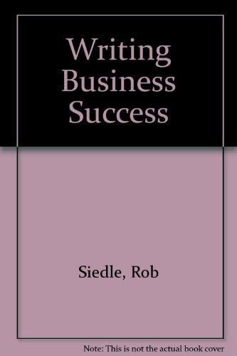 Preisvergleich Produktbild Writing Business Success
