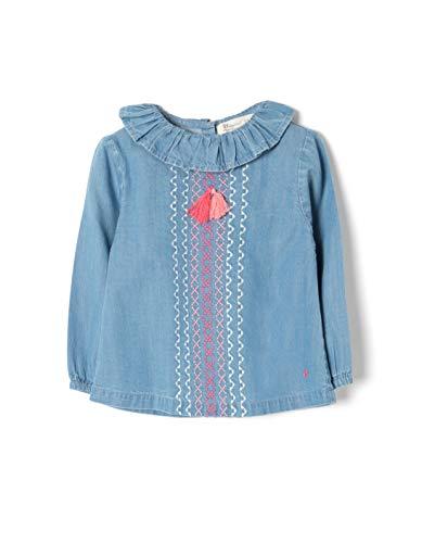 ZIPPY ZTG0301_455_3 Blusa, Azul (Medium Blue Denim 2565), ((Tamaño del Fabricante:18/24M) para Bebés