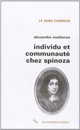 Individu et communauté chez Spinoza (Sens Commun)