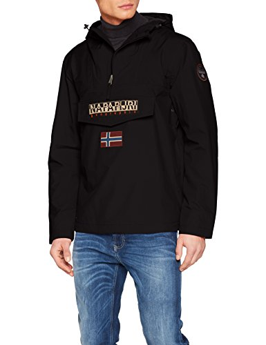 Napapijri Rainforest M Sum 1 Herren Jacke, Schwarz (Black 041), Gr. Medium -