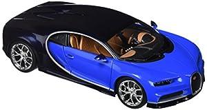 Bburago- Bugatti Chiron Coche de Juguete, Color Azul (18-11040B)