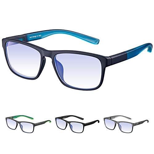 Rezi Gafas ordenador Gafas Lectura Protección contra