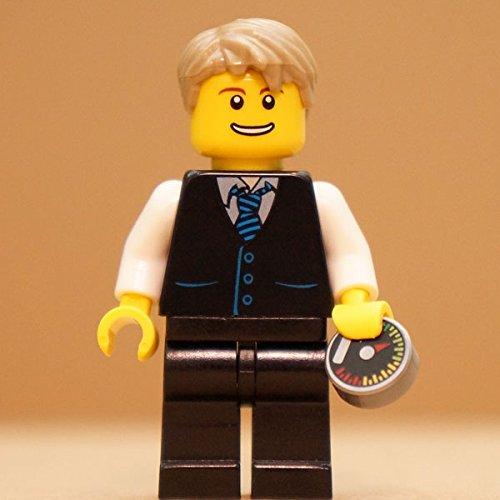 Preisvergleich Produktbild Elon Musk | exklusive LEGO Figur vom Gründer von Tesla & SpaceX | FamousBrick