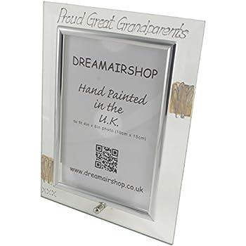 Proud Great Grandparents Photo Frame(Port): Amazon.co.uk: Kitchen & Home