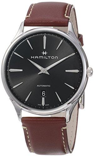 Hamilton Reloj de Hombre automático 40mm Correa de Cuero dial Gris H38525881