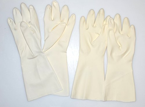 Deco-Relief Zucker Arbeitshandschuhe-(2Paar Spezialität Handschuhe-für gezogen Zucker funktioniert-Groß (Größe 8-8,5) -