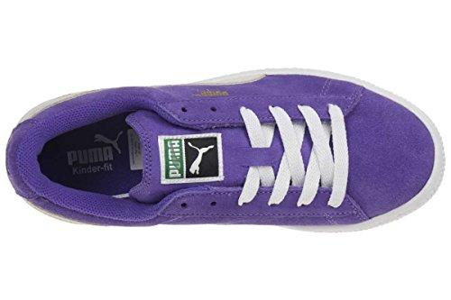 Puma Trainers - Puma Suede Kids Trainers - Libe... violett - weiß