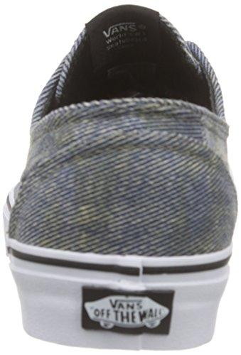 Vans Brigata, Sneakers Basses Mixte Adulte Noir (Acid Denim/Blue/Black)
