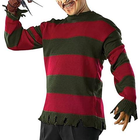 A Pesadilla en Elm Street cartucho para máquinas de corte Deluxe Freddy disfraz para adulto