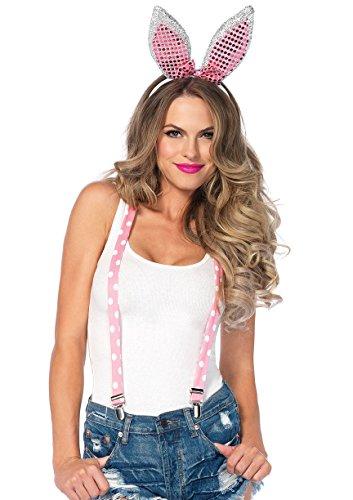 Leg Avenue Sparkle Bunny Kit Damen Kostüm pink (Kostüme Für Paare 2017)