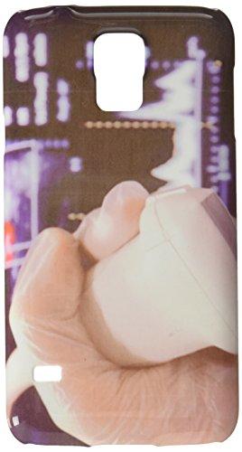 Linear Ultraschall Sonde mit vaskulären Doppler, im Hintergrund Handy Tasche Cover Case Samsung S5 -