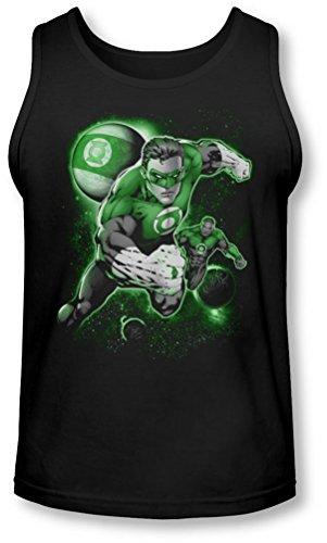 Green Lantern - Männer Lantern Planet Tank-Top Black