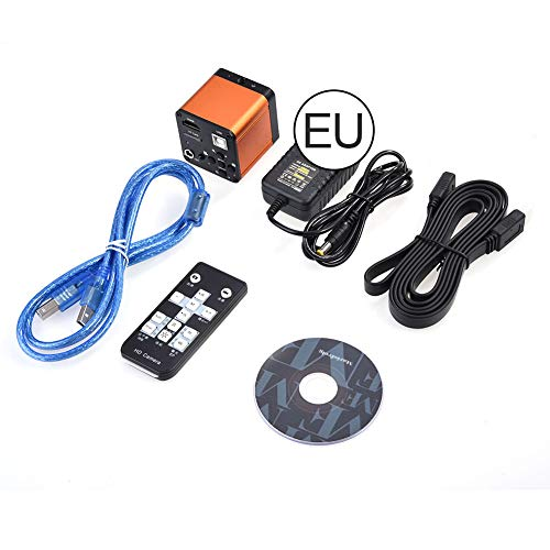16MP Industriekamera, 110-240V 16MP 1080P 60FPS HDMI USB Labor FHD Mikroskop Digitalkamera Video HDMI USB HD TF Karte Bild Videorecorder Industrielle Kamera HDMI HD Industriekamera (eu)