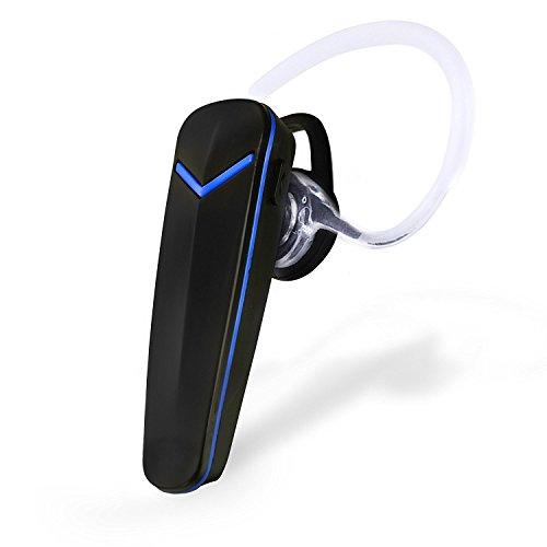 Auricular Inalámbrico Bluetooth con Micrófono Manos Libres Compatible con dispositivos Bluetooth (negro)
