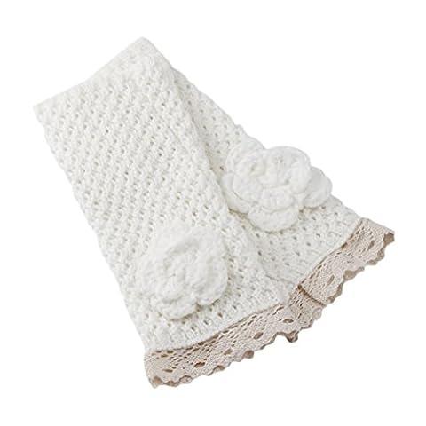 Gloves Transer® Women's Warm Winter Knitting Gloves Fashion Fingerless Knit