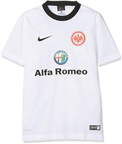 Nike Kinder Eintracht Frankfurt Away Supporters 2014/2015 Trikot, weiß/schwarz, XL/158-170 cm