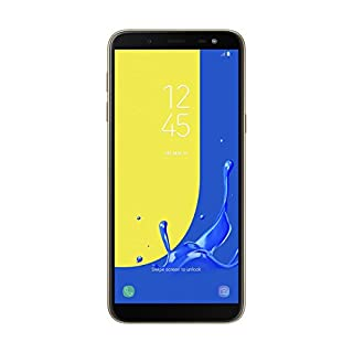 "Samsung Galaxy J6 - Smartphone de 5.6"", 4G, WiFi, Bluetooth, Octa Core 1.6 GHz, Memoria de 32 GB, 3 GB de RAM, cámara Trasera de 13 MP, Android 8.0, Color Dorado (B07DS8JSMX) 