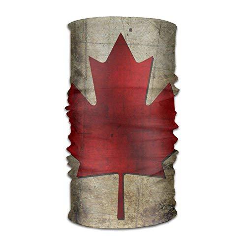 Canada Flag Headwrap Men Women Headwear Headband Neck Scarf Polyester Do Rag Cap Magic Head Scarf Bandana Cool Headdress Face Mask Neck Gaiter