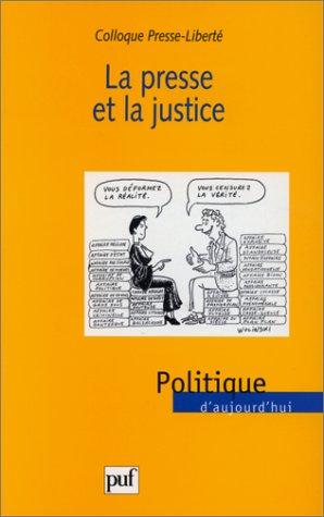 La presse et la justice