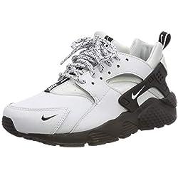 Nike Huarache Run Se (GS), Chaussures de Gymnastique garçon, Or (Pure Platinum/White/Black 007), 37.5 EU