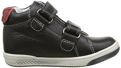 babybotte Jungen Antilles Sneaker Schwarz - Noir (135 Noir/Rouge)