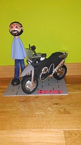Fofucha con MOTO Personalizada
