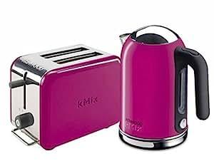 kenwood kmix boutique ttm029 2 slice slot toaster sjm029 1 litre jug kettle set magenta. Black Bedroom Furniture Sets. Home Design Ideas