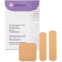 Reliance Medical Dependaplast Washproof Plasters, Assorted...