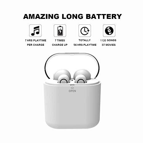 yobola Bluetooth Kopfhörer, Bluetooth 5.0 Kopfhörer 24H Playtime 3D Stereo HD In Ear Wireless Headset mit Mikrofon, Australien, Auto Pairing, kabellose Kopfhörer mit tragbarer Ladehülle - 4