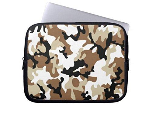 Trendy Desert Camo Laptop Sleeve Camo Animal Computer Case 17 17.3 Inch Netbook Tablet Laptop Case Soft Neoprene Sleeve Case Cover for 17
