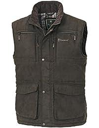 Pinewood Yukon–Chaleco para hombre, todo el año, hombre, color Marrón - Wildleder-Braun, tamaño XL