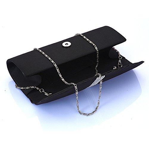 Bag Borsa Da Sera Semplici Signore Nuovo Tracolla Messenger Catena Di Borsa Purple