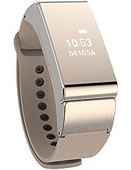 Smart Watch, WEANT High-End Metall Sport Armbanduhr Wasserdicht IP57Fitness Tracker Bluetooth Smart Armbänder Smart Watch Android Daten Synchronisation Sleep Monitor Nachricht Reminder Bidirektionaler Antiverlust Aktivitäten Record
