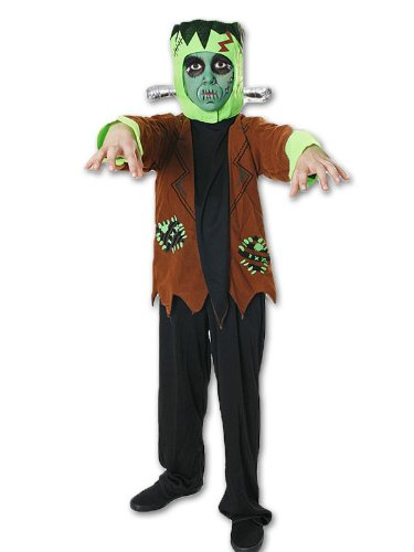 BOYS MONSTER FRANKENSTEIN Kostüm CHEAP Halloween-Ausstattung VEX SIZE ...