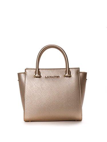 lancaster-paris-mujer-52709champa-oro-cuero-bolso-de-mano
