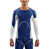 SKINS A400 - Camiseta de Manga Corta para Hombre, Hombre, Color Oblique, tamaño 2 X-Grande